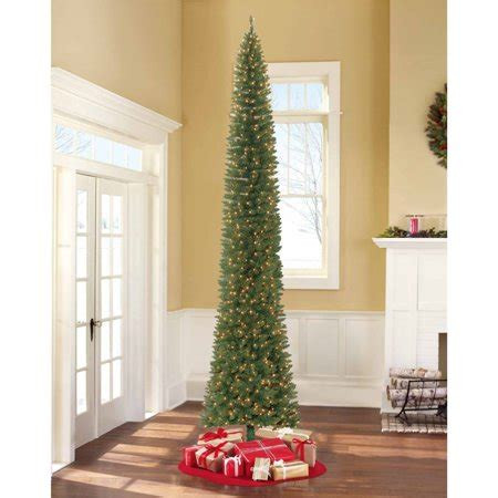 walmart christmas trees with lights time pre lit 12 brinkley pine artificial tree clear lights walmart