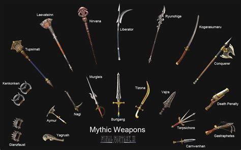 sword list top 5 weapons in