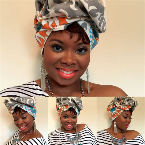 tutorial turbante africano floral premade head wraps are so much fun wrap it