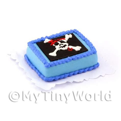 dolls house cakes dolls house miniature cakes and slices dolls house miniature pirate themed birthday