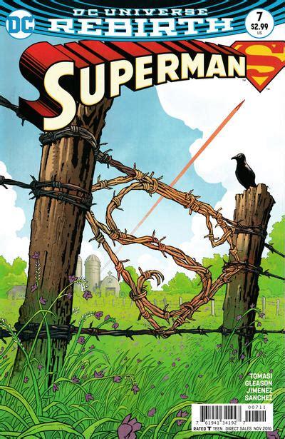 Superman Vol 3 Multiplicity Rebirth Tp Tomasi Comic Komik Dc Book superman s rebirth in praise of tomasi gleason jurgens 13th dimension comics creators