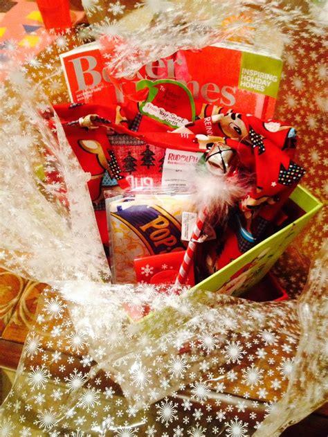 Secret Santa Gift Basket Activities