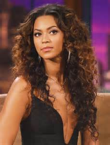 Beyonce Knowles Knock Out Long Curly Full Lace Human Hair