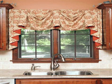 decoration unique kitchen curtains and valances ideas