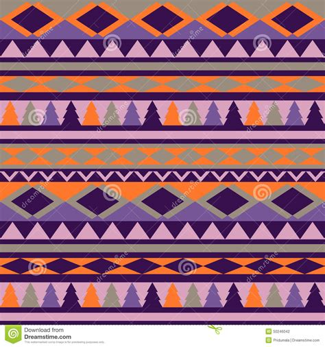 tribal pattern colorful seamless tribal texture tribal pattern colorful stock