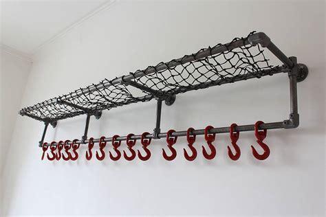 Industrial Coat Rack by Lewis Industrial Luggage And Coat Rack By Grain
