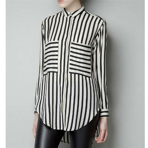 black and white striped blouse 183 we are forever