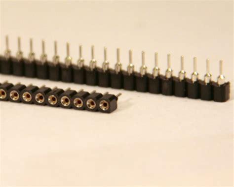 Pin Header 40p 254mm 40pin 40 Pin Gold Plate machine pin header deals on 1001 blocks