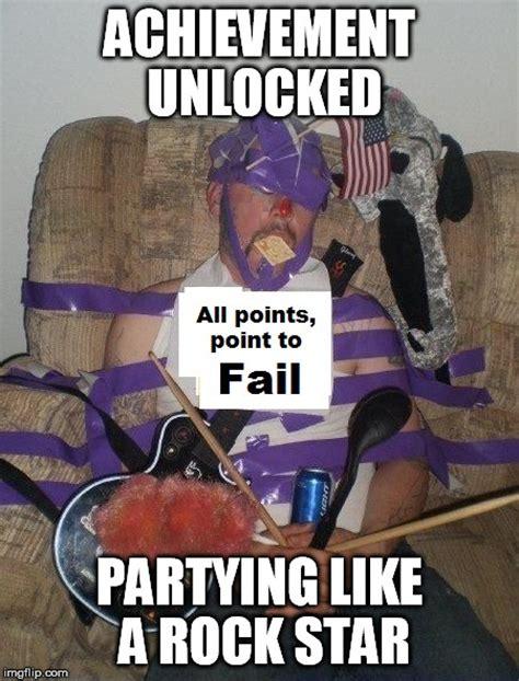 Achievement Unlocked Meme - like a rock start imgflip
