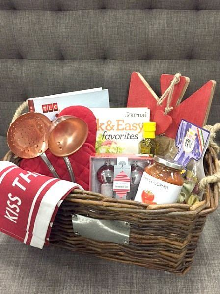 for the foodie this kithen themed gift basket is sure
