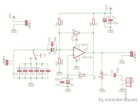 circuit diagram of inductance meter gt circuits gt simple inductance meter l39008 next gr