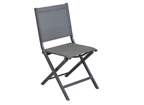 chaises de jardin pliantes chaises de jardin en aluminium thema proloisirs