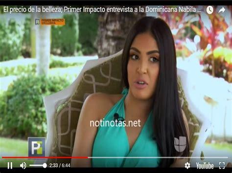 la hermosa dominicana nabila tapia audiciona para modelo dominicana y ex concursante de nuestra belleza