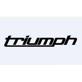 Aufkleber Triumph Logo by 2 Aufkleber Speed R