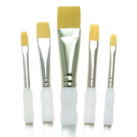 Flat Brush soft grip flat brush set craftyarts co uk