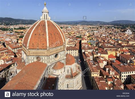 Cupola Florence by Brunelleschi Cupola Florence Firenze Stock Photos