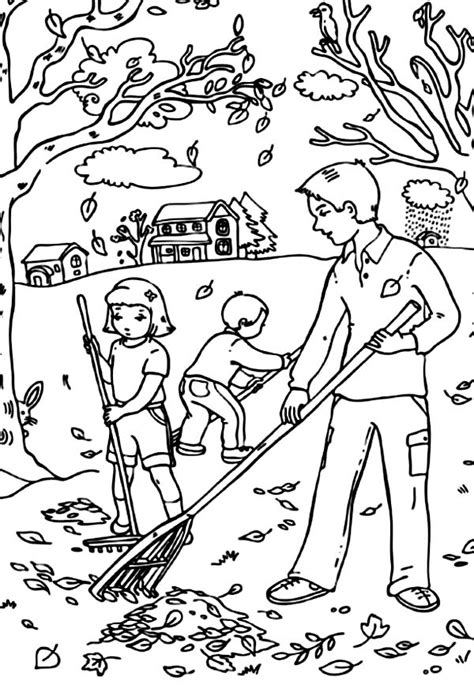 autumn coloring pages free printable fall coloring pages for best