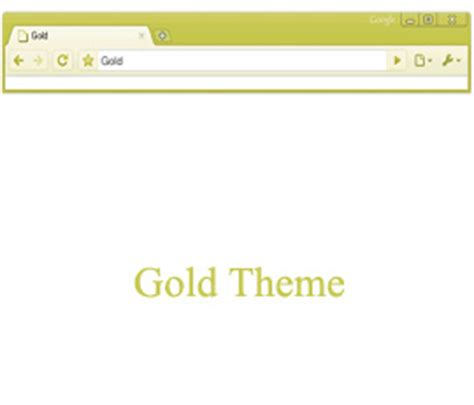 google themes gold download google chrome