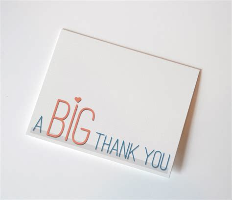 Printable Card Templates Free Thank You by A Big Thank You Free Printable Ma Nouvelle Mode