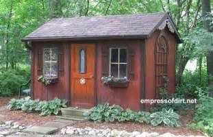 Best Garden Sheds Charming Garden Sheds From Rustic To Modern Empress Of Dirt