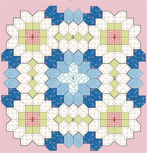 printable epp shapes patchwork of the crosses quilts beginners epp coffin