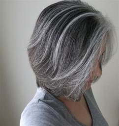 pictures of grey hair with highlights gray with soft highlights what about the reverse of that