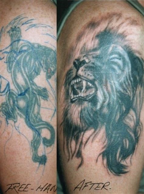 lion tattoo ideas cover up design idea for top 25 ideas about tattoos on