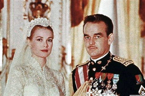 grace kelly s wedding to prince rainier was an elegant