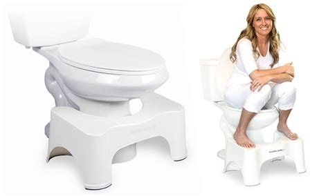 squatty potty ecco toilet stools groupon
