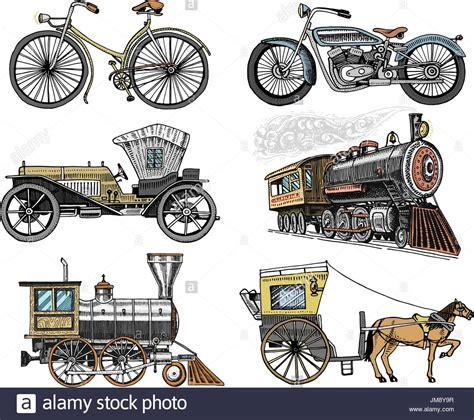 Motorrad Transport Zug Spanien by Transport Vehicle Design Stockfotos Transport