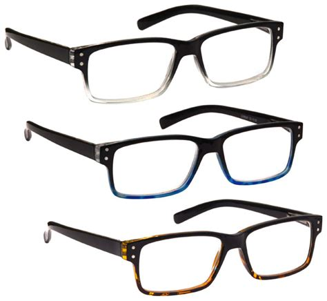 uv reader reading glasses special offer wayfarer style