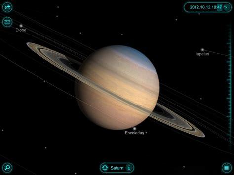 moons on saturn best free app of the week solar walk saturn