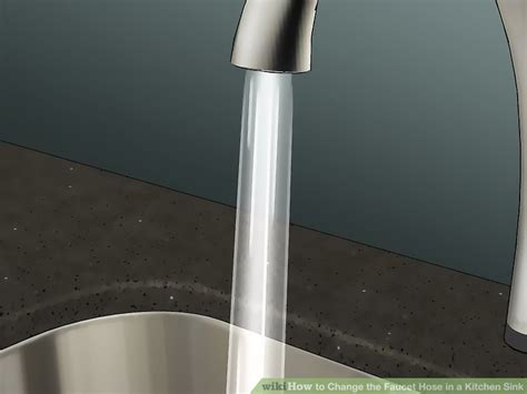 how to change a kitchen sink faucet how to change the faucet hose in a kitchen sink with