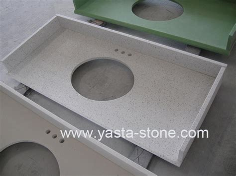 Engineered Vanity Tops by Engineered Quartz Vanity Tops China Quartz Vanity