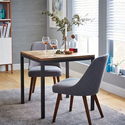 square esszimmer sets box frame square dining table wood west elm