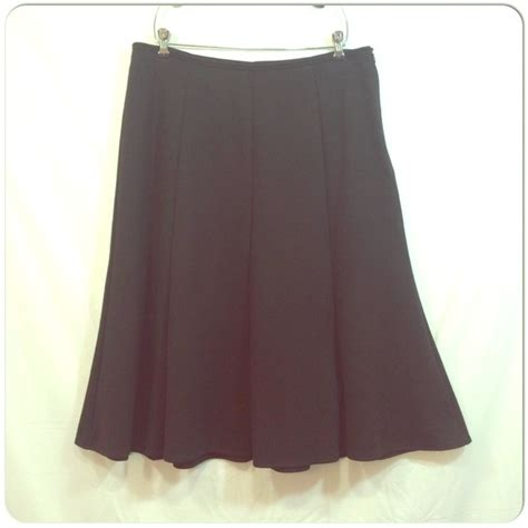 ponte knit skirt charter club black ponte knit midi skirt charter club
