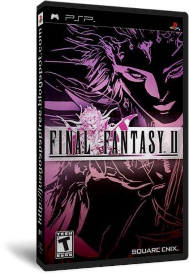 preguntas frecuentes sii versión 07 final fantasy ii juegos psp en 1 link