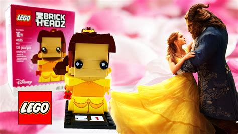 Lego 41595 Brick Headz and the beast lego brick headz 41595 review
