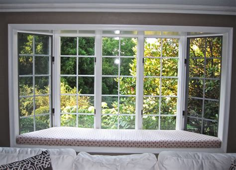 nice window treatment ideas for bay windows white taupe nice window seat for sale with glass panel bay window also