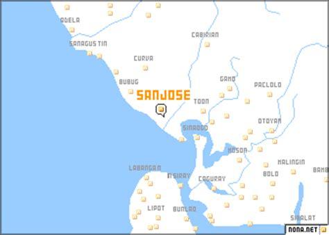 san jose philippines map san jose philippines map nona net