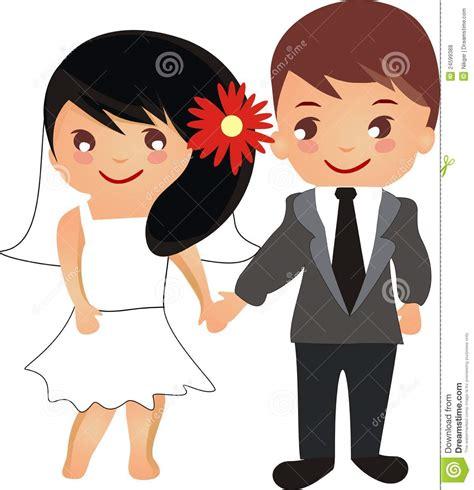 Dead Wedding Animation by Beautiful Wedding Stock Vector