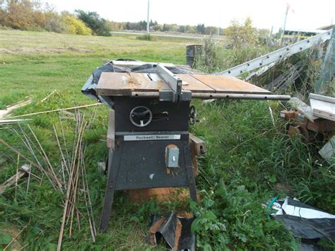 rockwell 15 10 in table saw 10 inch rockwell beaver table saw other south saskatchewan