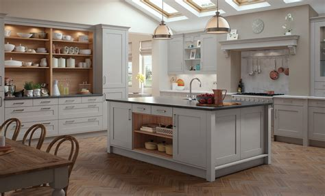 Light Gray Cabinets by Light Gray Modern Kitchen Quicua