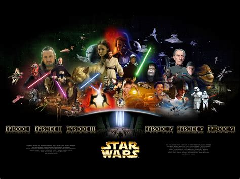 misteri film star wars all the star wars movies wallpaper david crew s blog