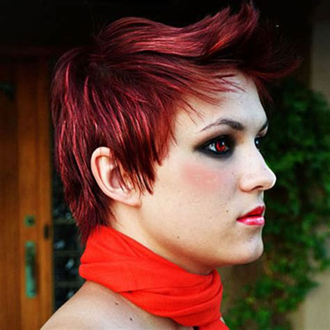 hairstyles red 2018 red hairstyles red short hair ideas colours for