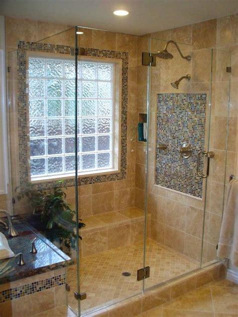 Glass Block Bathroom Designs by Glass Block Window Shower Design Pictures Remodel Decor