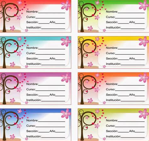 etiquetas autoadhesivas para imprimir imagui etiquetas para cuadernos para imprimir imagui