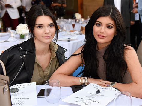 kendall jenner says she s sticking with sister kim s no kylie jenner was jealous about kendall s modeling career