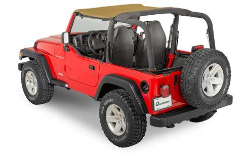 Bimini Top Jeep Quadratop 174 Bimini Top For 97 06 Jeep 174 Wrangler Tj Quadratec