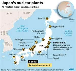 nuclear plants in map japan ends nuclear shutdown four years after fukushima